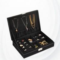 Table Organizer Jewellery Cosmetics Box - Black