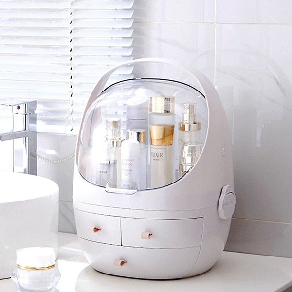 Multi Storage Perfumes And Cosmetics Storage - White
