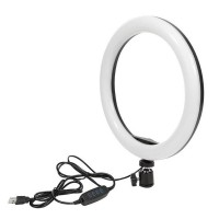 6 Inches Round Multicolor Adjustable Ring Light Set - Without Stand