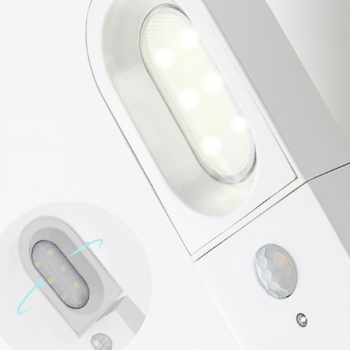 Warm Light Smart Home Rechargeable Outdoor Lamp - White