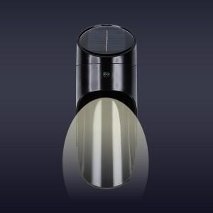 Outdoor Easy Installation Warm Capsule Lamp - Black