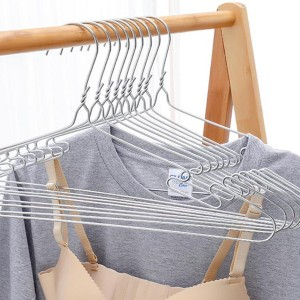 Ten Pieces Creative Stainless Steel Hangers Set