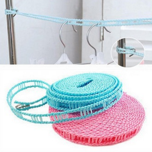 Easy Install Non-Slip Laundry Dryer Rope Roll - One Piece