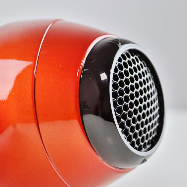 Strong Power Quick Hair Dryer Machine - Orange