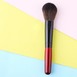 Wooden Handle Face Blush Makeup Brush
