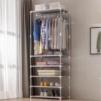 Long Length Large Capacity Five Layers Cloth Hanging Rack