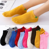 Solid Color Ten Pieces Casual Wear Toe Socks Set