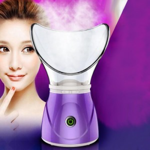 Easy And Quick Electric Facial Steamer - Purple