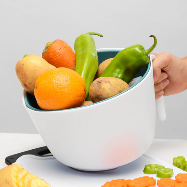 Two Pieces High Quality Kitchen Colander