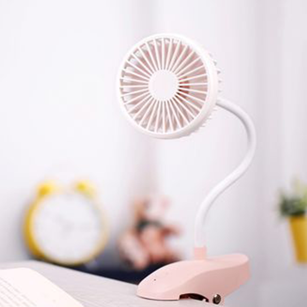 Portable Twilt Mini USB Silent Fan - Blue