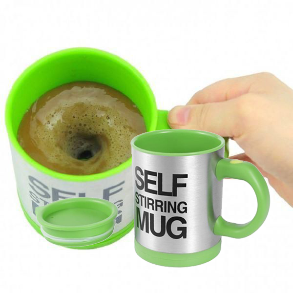 Multipurpose Self Stirring Automatic Coffee Mug - Black