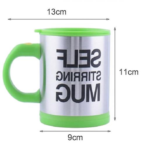 Multipurpose Self Stirring Automatic Coffee Mug - Black