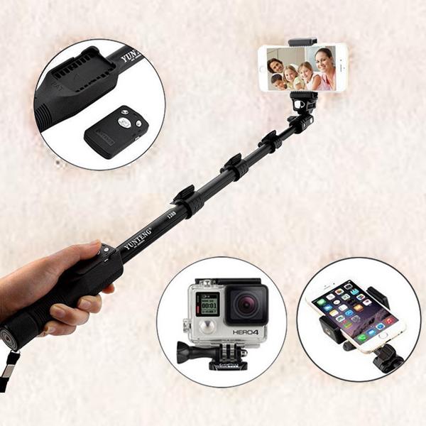 Multipurpose Handheld Monopod Selfie Stick