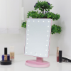 Makeup Mirror With LED - Pink