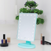Makeup Mirror With LED - Sky Blue