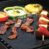 Portable Non-Sticky Barbeque Grill Sheets - Two Pieces
