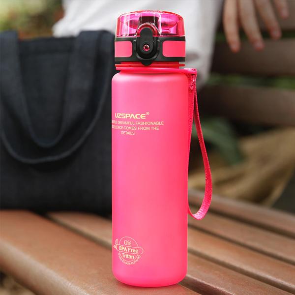 High Grade Plastic Water Bottle - Pink