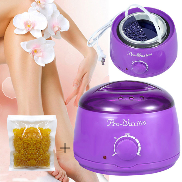 Wax Heater Electric Machine With Free WAX Beans - Purple