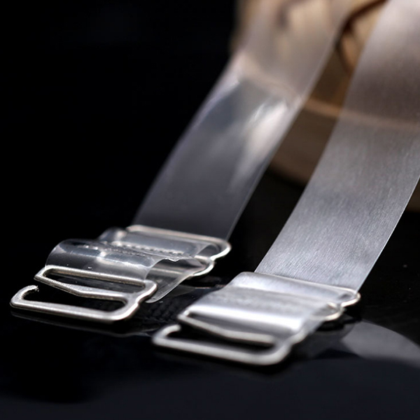 Bra Strap Easy Wear With Buckle - Transparent