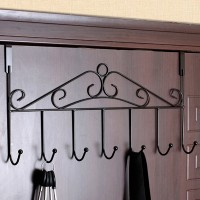 Creative Easy Door Hook Clothes Hanger - Black