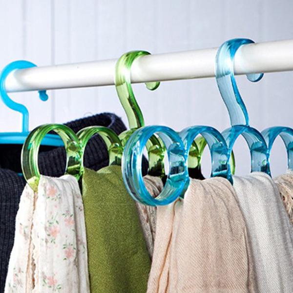 Spiral Multipurpose Wardrobe Plastic Hanger