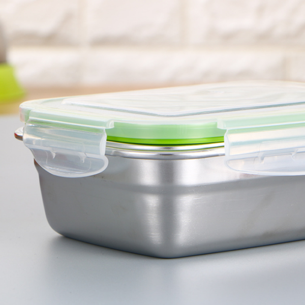 Leak Proof Stainless Steel Food Storage And Lunch Box