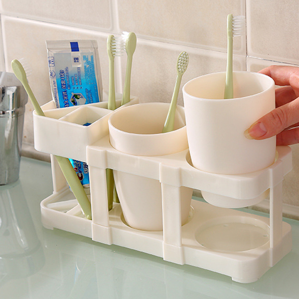 Tooth Brush Rack With Washing Cups