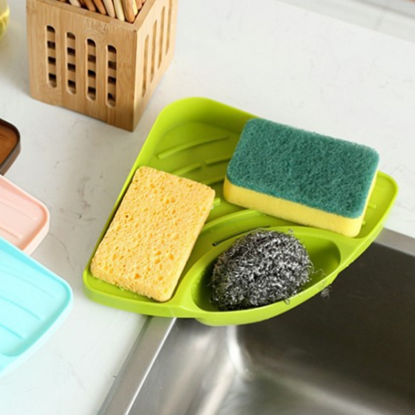 Dish Washing Sink Sponge Tray