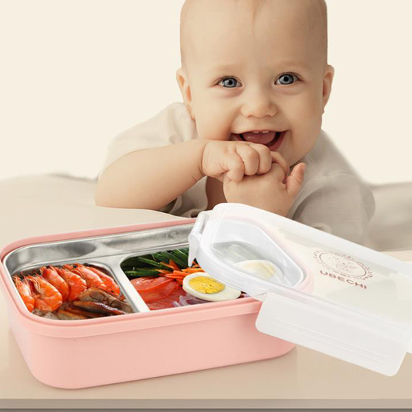 Insulated Stainless Steel Partition Lunch Box