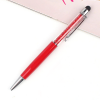 Quality Ball Point Pen With Mobile Screen Pointer - Red
