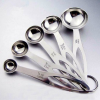 Creative Five Pieces Stainless Steel Spices Spoons