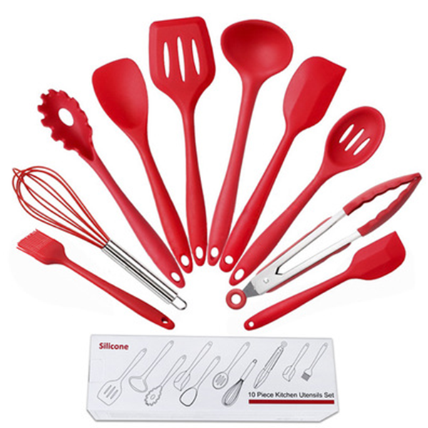 Creative Ten Pieces Kitchenware Spoons Set