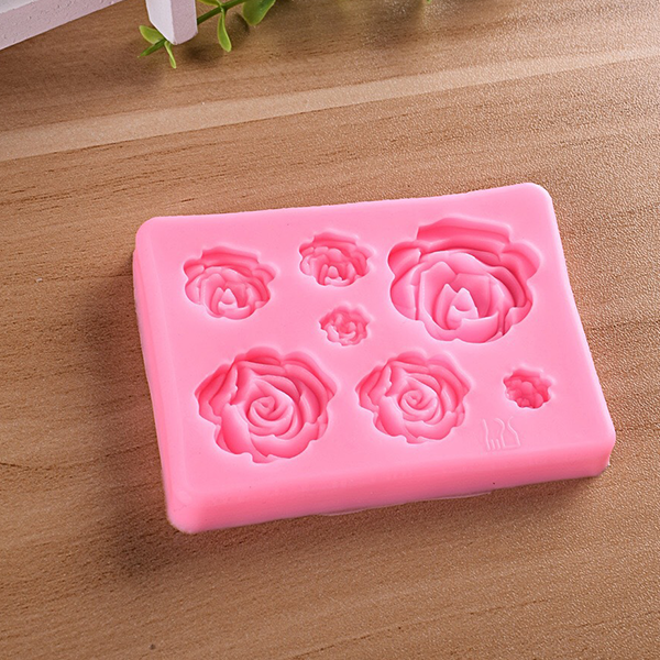 3D Flower Cake Decoration Silicon Mold