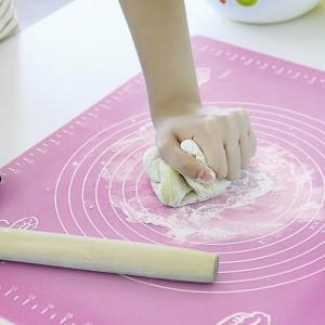 Temperature Resistant Silicon Pizza Dough Maker - Pink