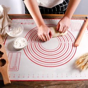 Temperature Resistant Silicon Pizza Dough Maker - White
