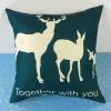 Animal Prints Soft Sofa Cushion Pillow - Green