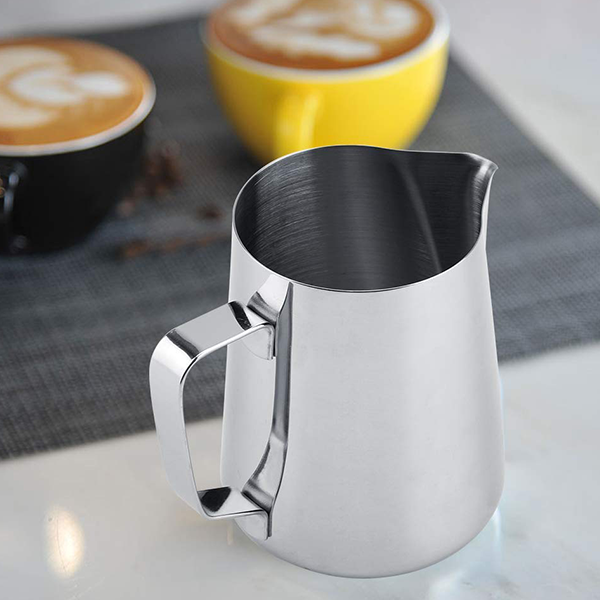 Stainless Steel Milk Foam Pot For Coffee