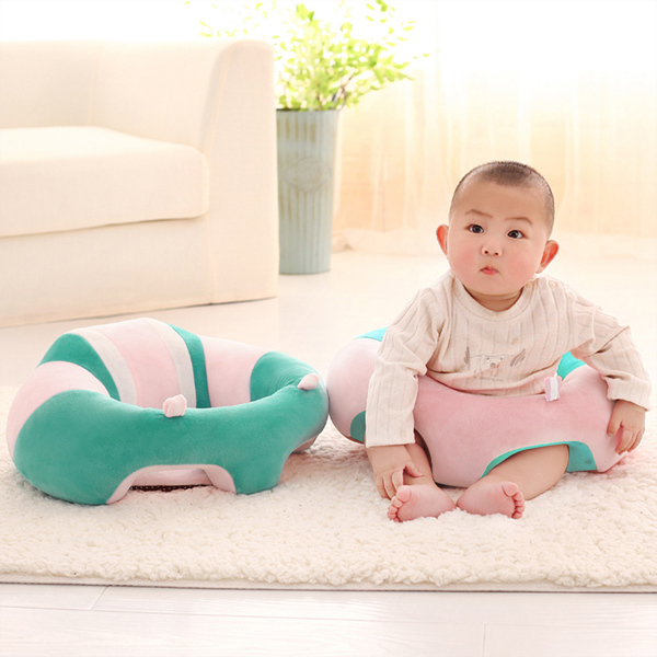 Baby Back Support Soft Cushion Seat - Sea Green