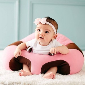 Baby Back Support Soft Cushion Seat - Brown