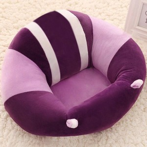 Baby Back Support Soft Cushion Seat - Purple