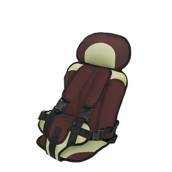Brown Comfortable Baby Portable Car Seat