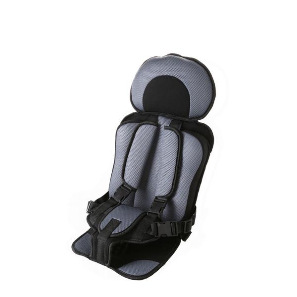 Grey Comfortable Baby Portable Car Seat