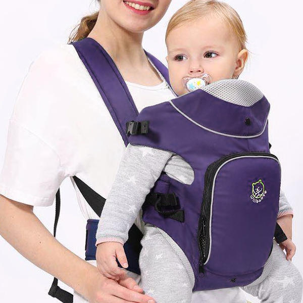 Fine Quality Convenient Baby Carrier - Purple
