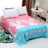 Printed Quality Bed Cover Sheet - Rabbits