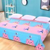 King Size Wide Space Printed Bed Cover Sheet - Bears