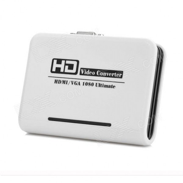 1080P HDMI to VGA / Audio-Out HD Audio Video Converter