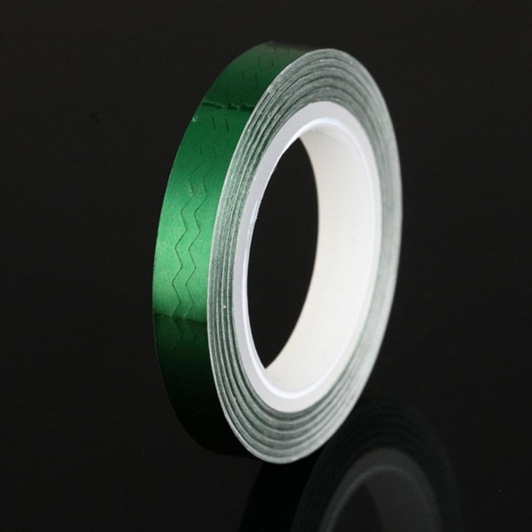 Party Decorative Easy Nail Sticking Tape - Green