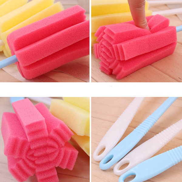Easy Tea Mug Cleaner Sponge Tool - Different Colors