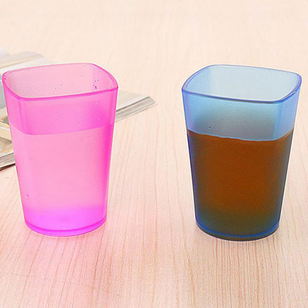 Different Colored Teeth Washer Glass - One Piece