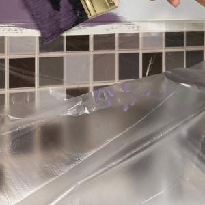 Transparent Self Assemble Anti Dirt Paint Protective Floor Plastic Sheet